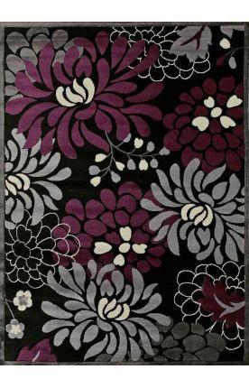 United Weavers Urban Trends Maya Plum Rug - Love the purple-grey colors!