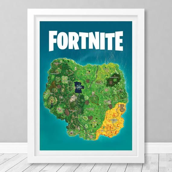 photograph about Printable Fortnite Map identify Fortnite Poster, Fortnite Primary Map, #Fortnite_Artwork