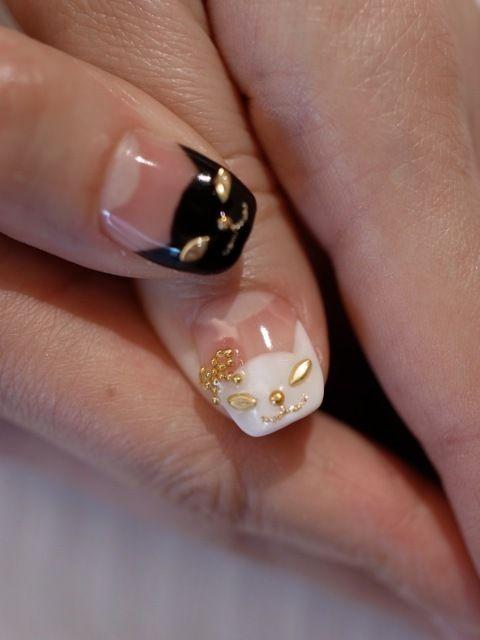 Bijoux Nails : cat nail