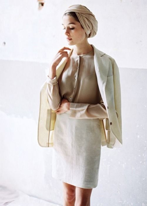 A Muted Palette. turban