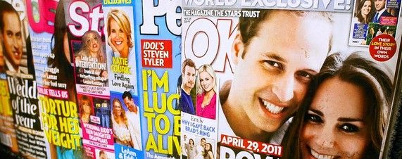 Among the hardest hit during the latest period were celebrity weeklies, traditionally among the top sellers on the newsstand. Wenner Media's US Weekly was down 16.9%, Bauer Publishing's In Touch and Life & Style were down 16% and 22.3%, respectively, American Media's Star magazine was down 16.7% and Time Inc.'s People was down 10.5%. At a number of those publications including People, Star and US Weekly, strong gains in print subscriptions helped offset declines at the newsstand.