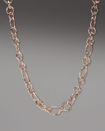 Rose Gold Starter Chain by Ippolita at Bergdorf Goodman.