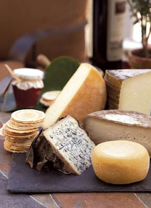 Take a European tour of premium cheeses.