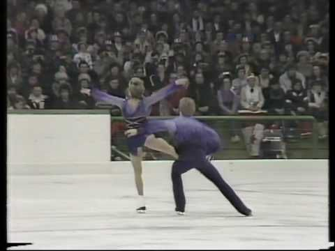 "Torville & Dean - ""Bolero"" - '84 Olympics. this is why I love ice dancing the most out of the mens/womens/pairs performances ... not predictable. so much graceful movement."