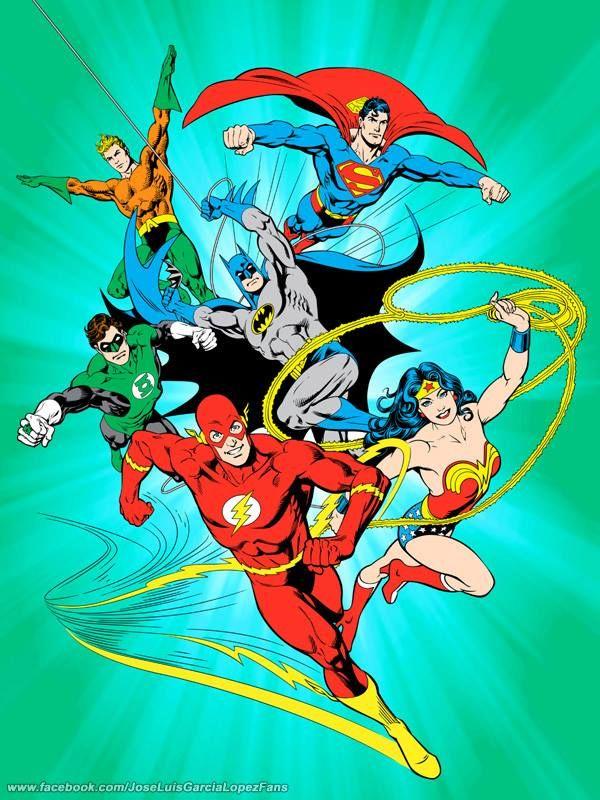 Justice League by Jose Luis Garcia-Lopez