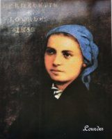 1858 Photo of St Bernadette.