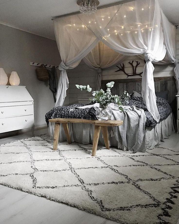 50 Romantisches Schlafzimmer mit Himmelbetten – #H…
