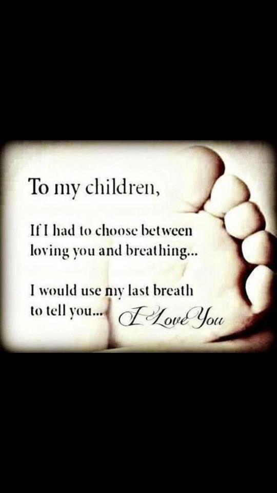 I love my children!