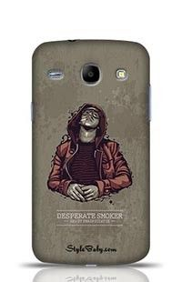 Desperate Smoker Samsung Galaxy Core i8262 Phone Case