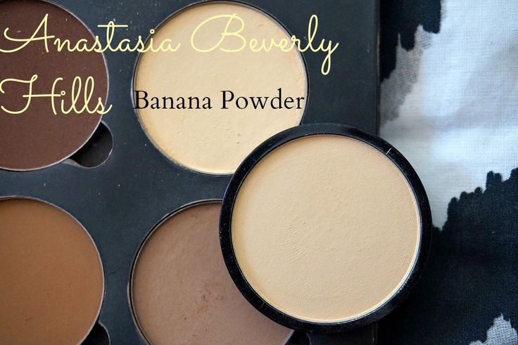 Anastasia beverly hills banana powder and dupe