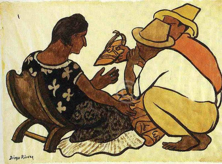 Born on this day Diego Rivera December 8, 1886, in Guanajuato, Mexico | Diego Rivera Paintings