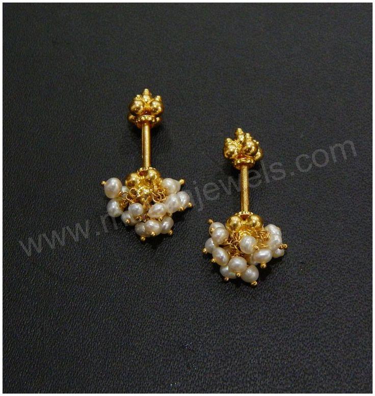 Earring 15 Koppu Code 0756504530weight 2gm Jewelry
