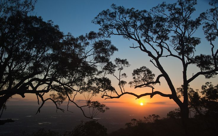 sunset Mt Archer Rockhampton QLD