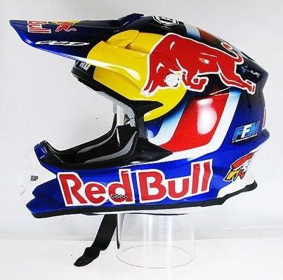 Red bull Motocross helmet/riding gear