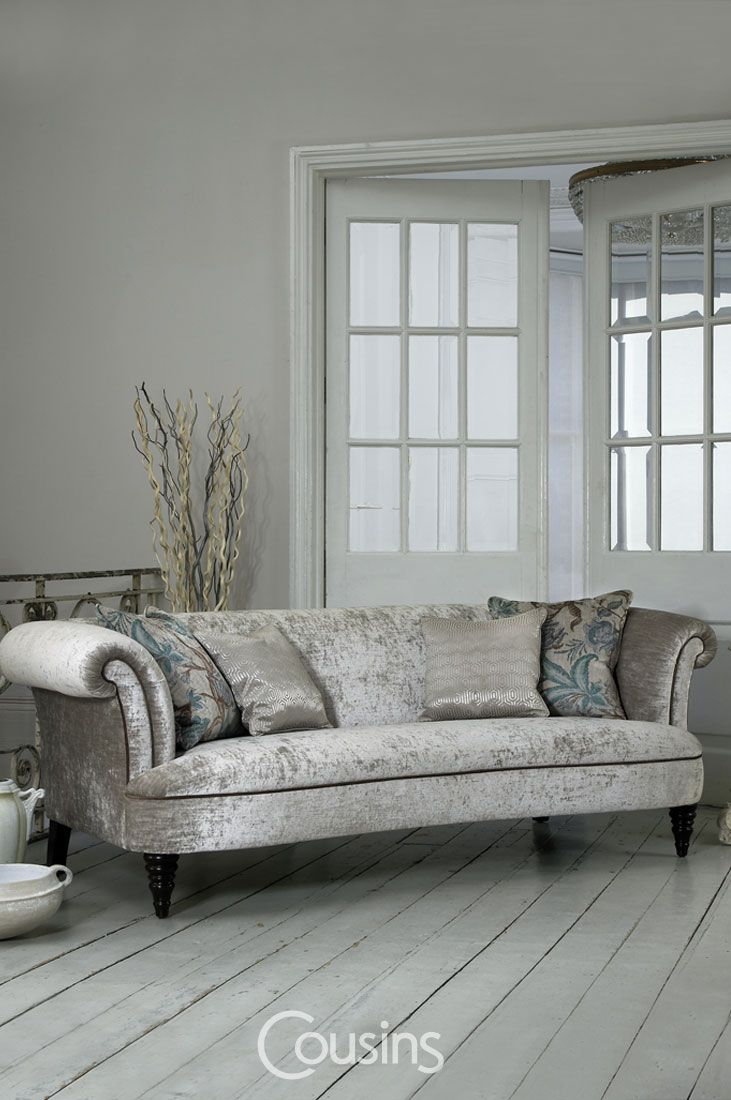 Isabelle offers a sophisticated collection of fabric sofas and chaise that make a classic statement with its traditional designed range with an accent of contemporary style.
