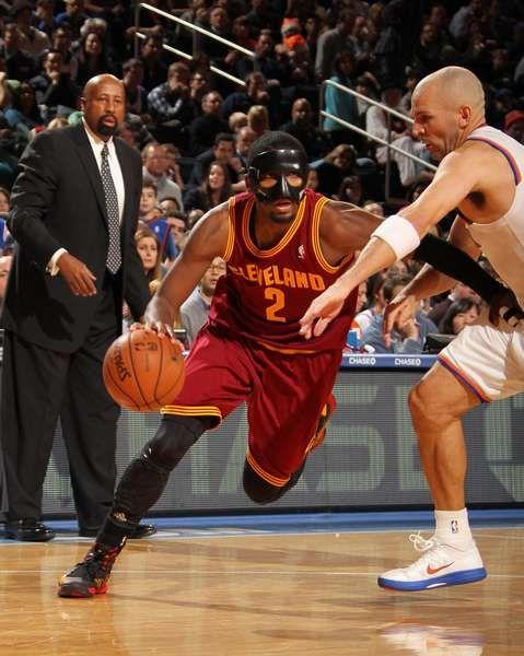 Kyrie Irving = nez cassé pour devenir sauveur = Cleveland Cavaliers