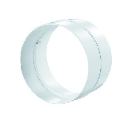 VENTS Conector PVC, ventilatie, diam 125mm
