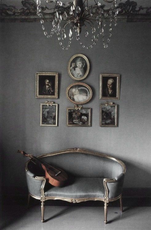 Gray color ♅ Dove Gray Home Decor ♅