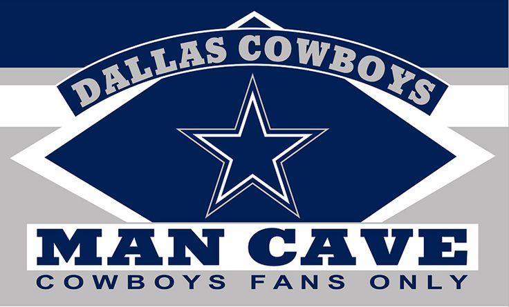 "Dallas Cowboys ""Man Cave"" Flag"