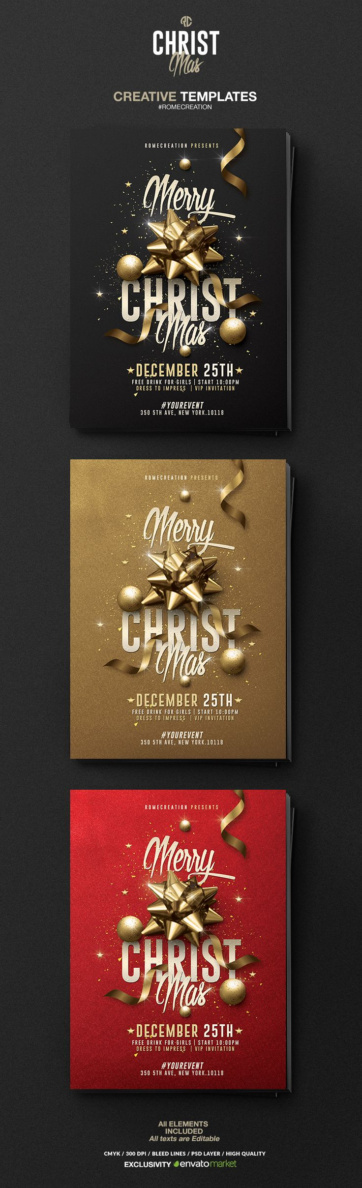 Creative Christmas on Behance