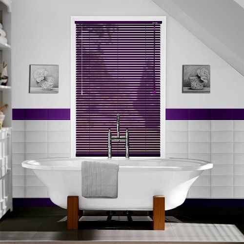 majestic wooden blinds for bathrooms. A made to measure brushed orange venetian blinds available in a slat width  ideal for bathrooms and kitchens 35 best Majestic Black Blinds images on Pinterest
