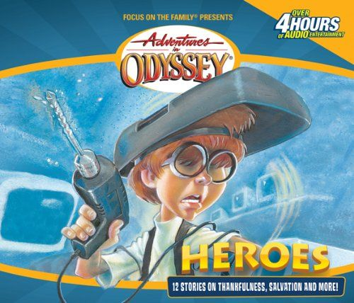 Heroes: And Other Secrets, Surprises and Sensational Stories (Adventures in Odyssey, Gold Audio Series No. 3) by AIO Team http://www.amazon.com/dp/1589970721/ref=cm_sw_r_pi_dp_sGCHub0153JEV