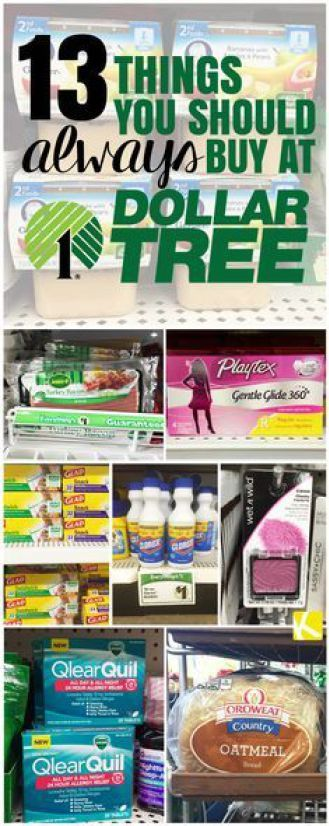 13 Things You Should Always Buy at Dollar Tree