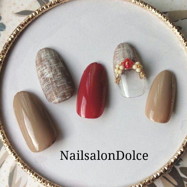 かわいいネイルを見つけたよ♪ #nailbook Nails for fall <3