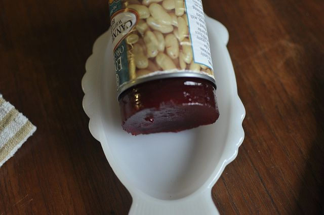 """""""canned"""" homemade cranberry sauce by Marisa 