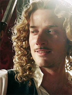 The incredible Evan Williams as the Chevalier de Lorraine in season 2 of the hit canal+ series Versailles