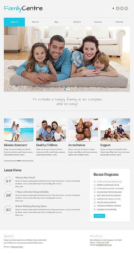 Family Center Joomla Templates by Svelte