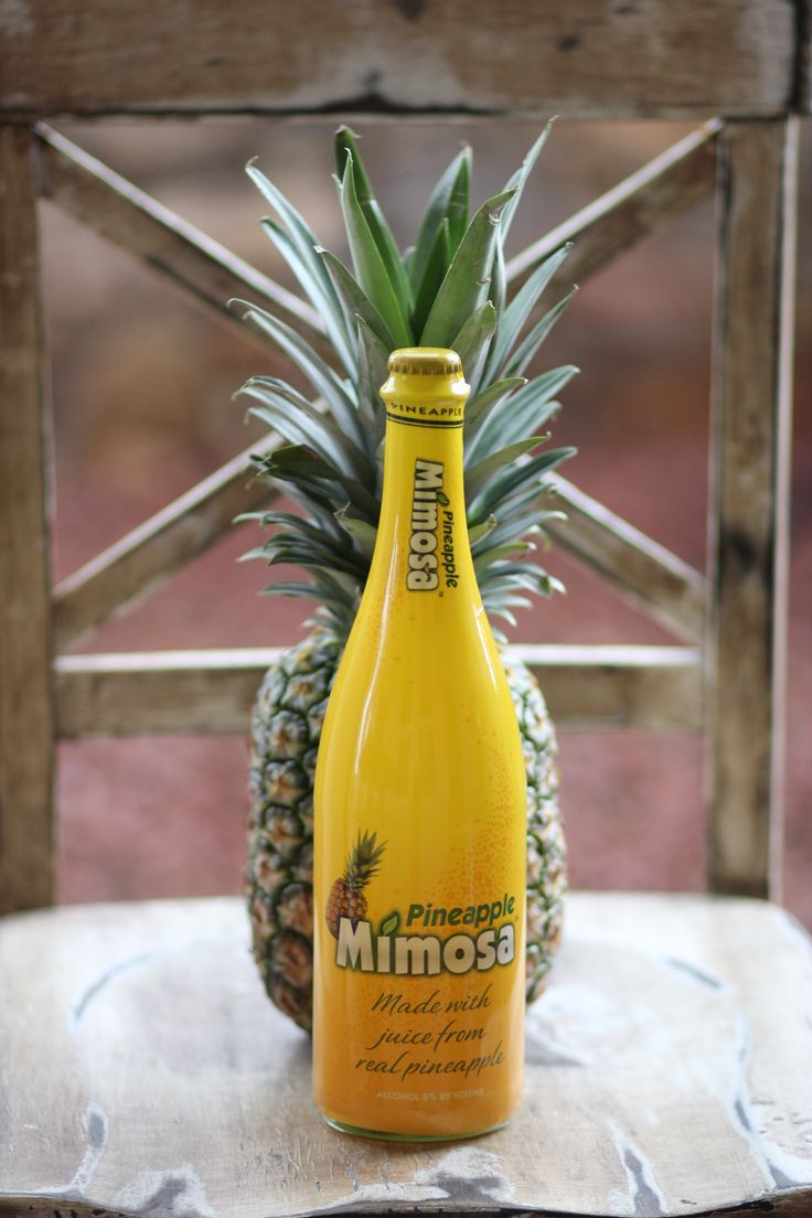 Pineapple Mimosa. Pre-Mixed Mimosa, Tropical delight