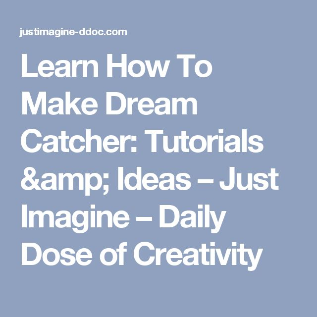 17 best ideas about making dream catchers on pinterest for How to make dreamcatcher designs