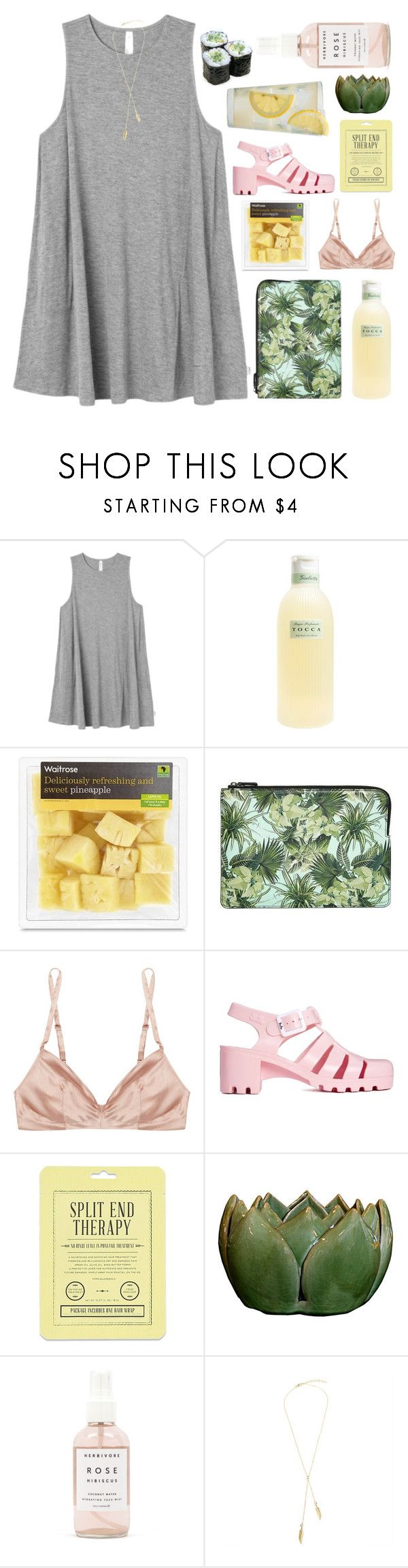 """""""1000 times i say i'm sorry"""" by forgetful-mind ❤ liked on Polyvore featuring RVCA, Tocca, Emma Cook, Rituel by Carine Gilson, JuJu, Love 21, Martha Stewart and Herbivore"""