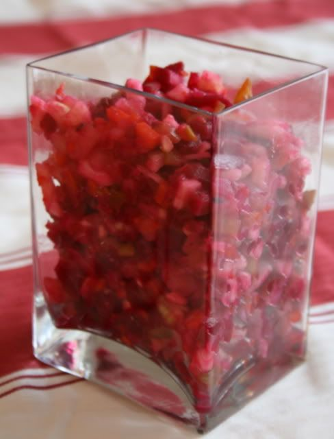 Rosolli - Beetroot Salad - must for Finnish Christmas dinner