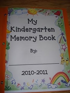 Kindergarten Memory Book-- Maybe start the 1st of May?! @Aimée Gillespie Hernandez White