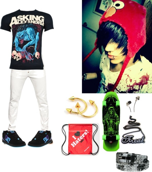 Emo Boy By Scenefreak117 Liked On Polyvore Emo Lifestyle
