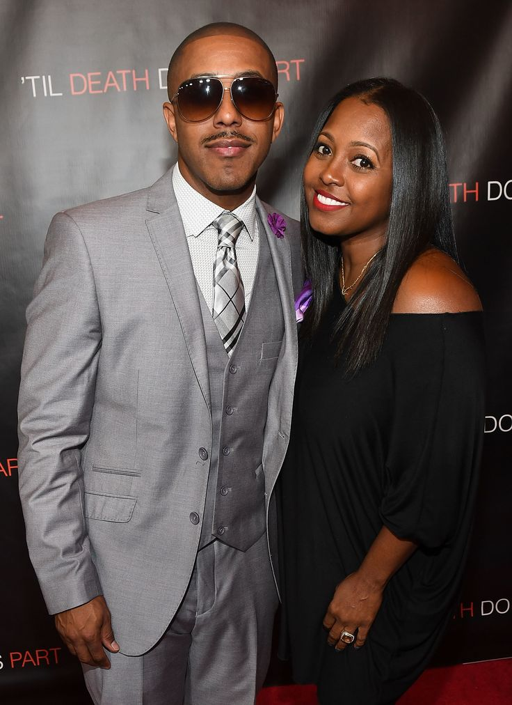 Marques Houston and Keshia Knight Pulliam