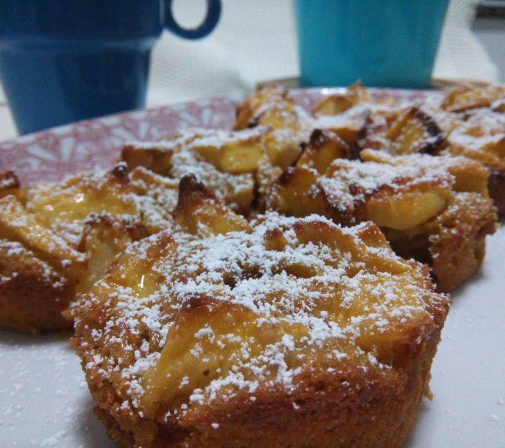 Tartaletas de manzana fáciles de hacer.