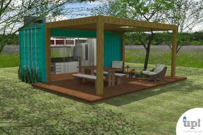 As 25 melhores ideias de casas rurais no pinterest casa - Casa container italia ...
