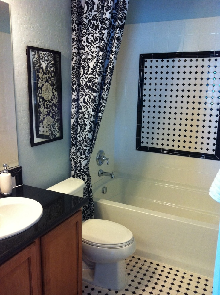 Guest Bath Remodel On Pinterest Floors Cabinets And Bathroom Ideas