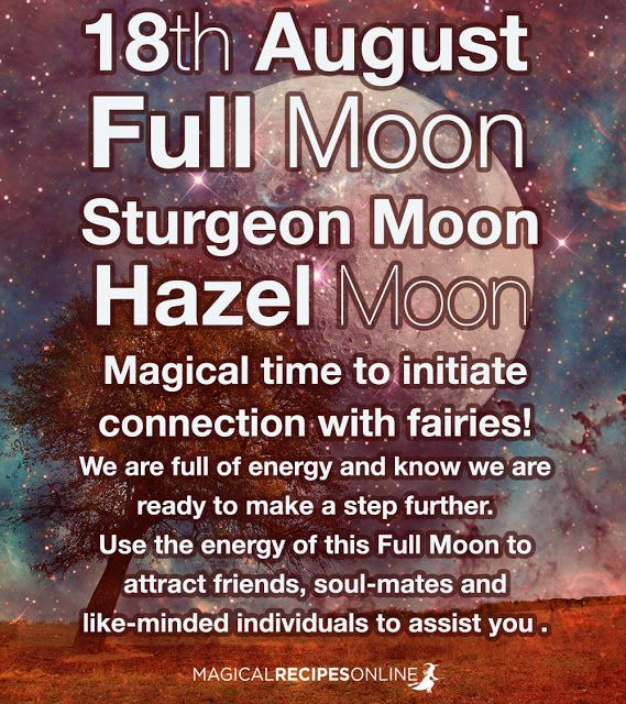 August Magic: The Sturgeon Moon