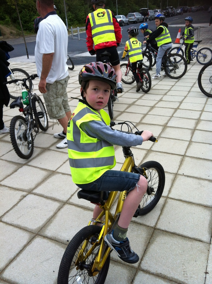 Oliver improving his riding skills @Cyclopark