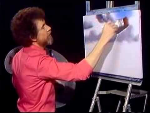 ▶ Bob Ross - Malerei Wolke - Malerei Video - YouTube