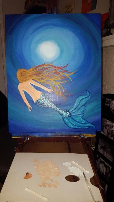 Sylvia s mermaid for her wedding