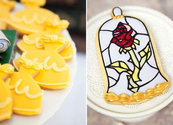 16 ideias de bolos e doces inspirados em A Bela e a Fera - Constance Zahn | 15 anos