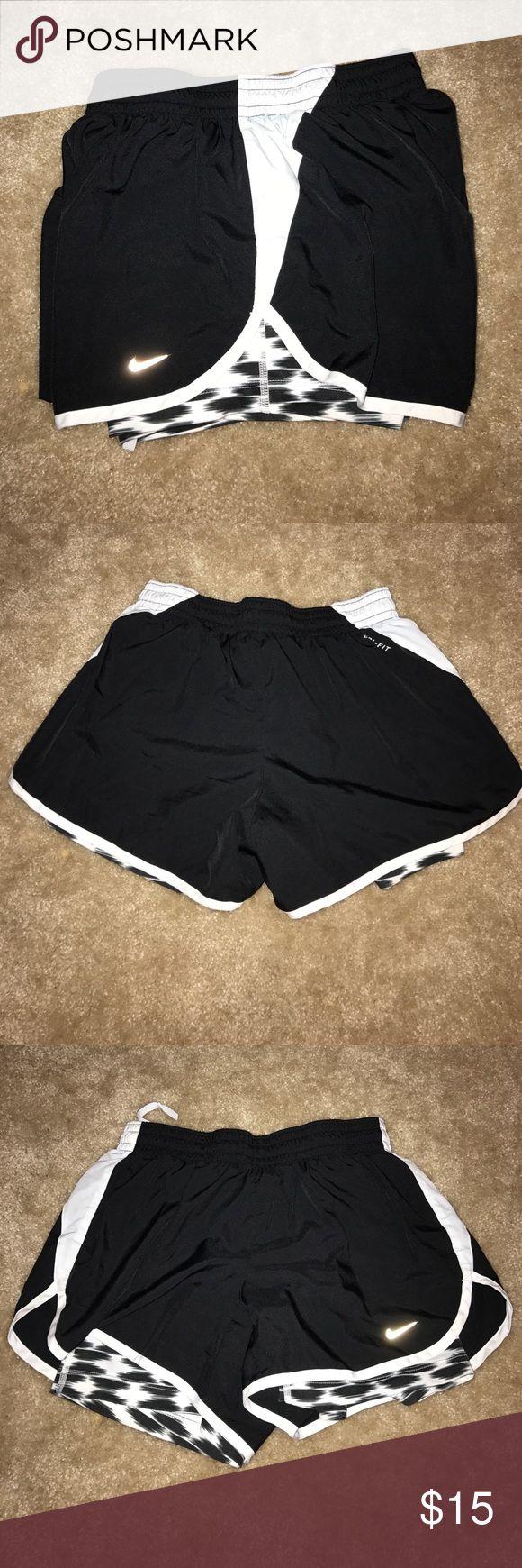 Nike Dri Fit Shorts with Spandex underneath No flaws! Has spandex underneath. Nike Shorts