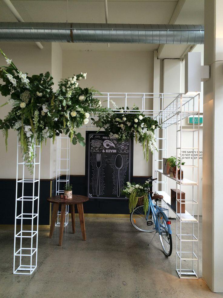 My Flowerhouse - Floral installation
