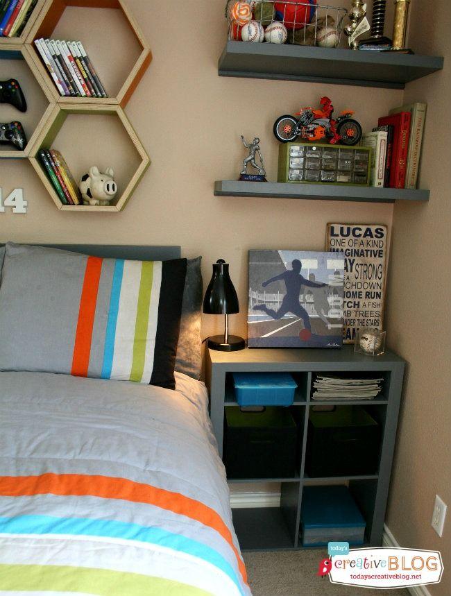 Cool Bedrooms for Teen Boys | TodaysCreativeBlog.net