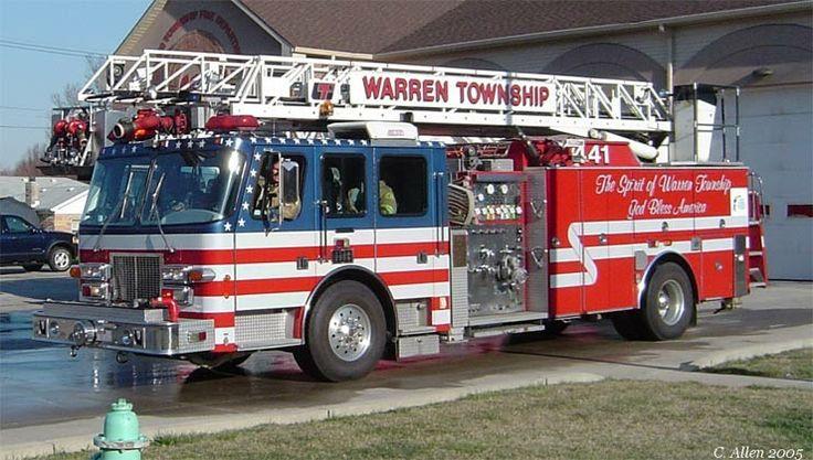 Warren Township Fire Department(now IFD) Simon Duplex Quint 444